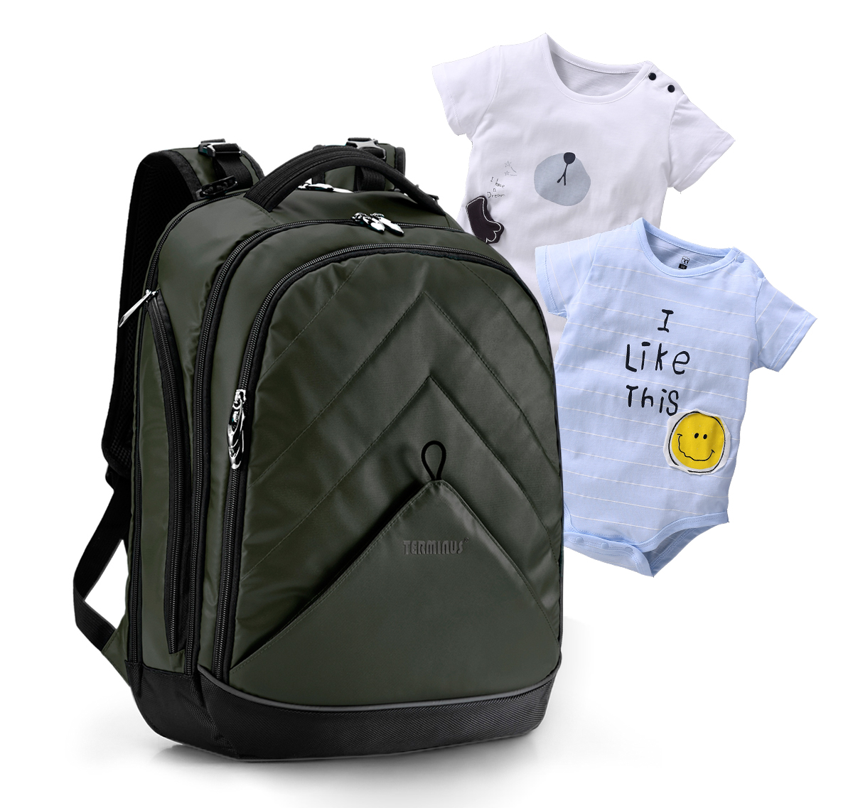 terminus multi function baby diaper backpack free 2 baby clothes malaysia best online. Black Bedroom Furniture Sets. Home Design Ideas