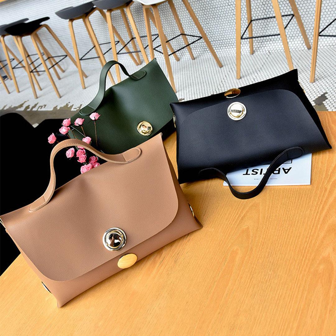 Handbag Buckle Button Best Selling Fashionable Beg Tangan Versi Tas Wanita Korea Personaliti Malaysia Online Shopping Fashion Boutique With Clothes